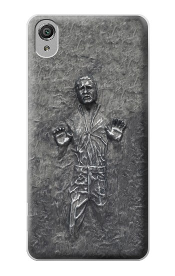 Printed Han Solo in Carbonite Sony Xperia X Case