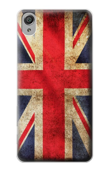 Printed British UK Vintage Flag Sony Xperia X Case