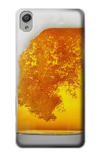 Printed Beer Glass Sony Xperia X Case