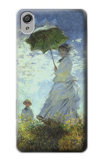 Printed Claude Monet Woman with a Parasol Sony Xperia X Case