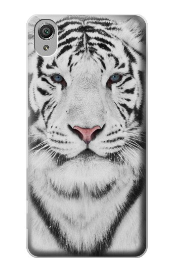 Printed White Tiger Sony Xperia X Case
