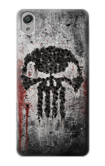 Printed Punisher Sony Xperia X Case