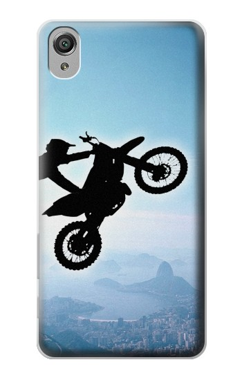Printed Extreme Motocross Sony Xperia X Case