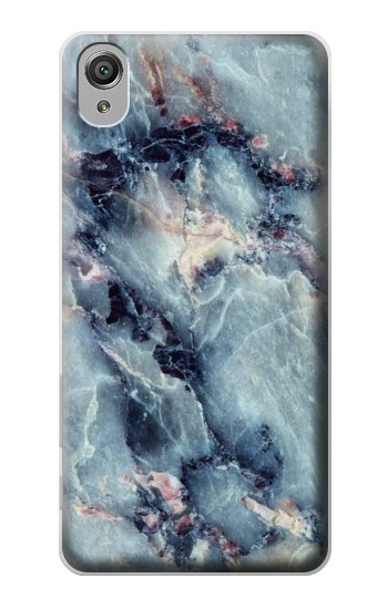 Printed Blue Marble Texture Sony Xperia X Case