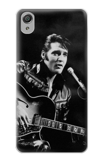 Printed Elvis Presley Live Concert Sony Xperia X Case