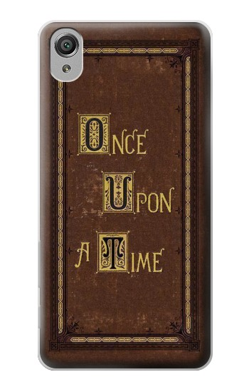 Printed Once Upon a Time Book Cover Sony Xperia X Case