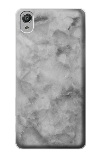 Printed Gray Marble Texture Sony Xperia X Case