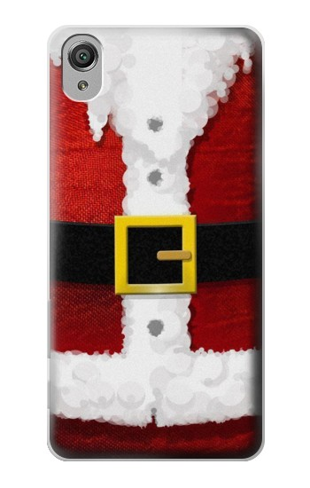 Printed Christmas Santa Red Suit Sony Xperia X Case