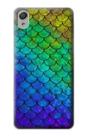 Printed Mermaid Fish Scale Sony Xperia X Case