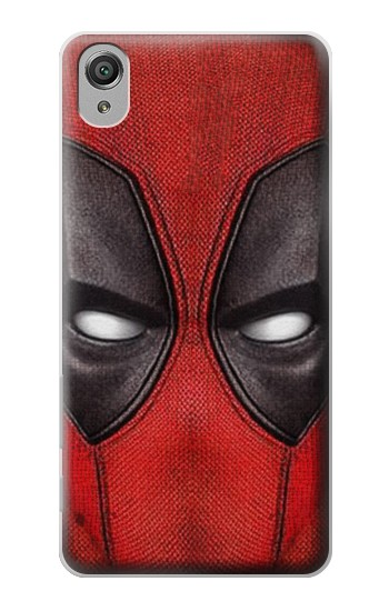 Printed Deadpool Mask Sony Xperia X Case