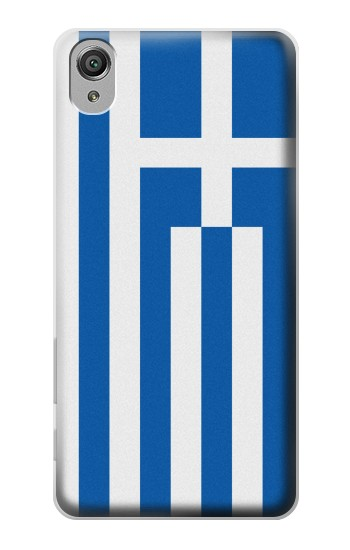 Printed Flag of Greece Sony Xperia X Case