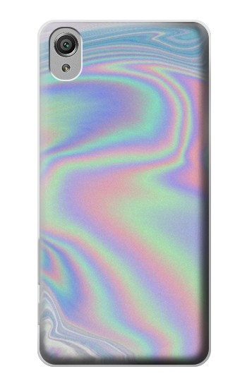Printed Pastel Holographic Photo Printed Sony Xperia X Case