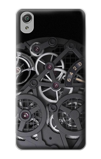 Printed Inside Watch Black Sony Xperia X Case