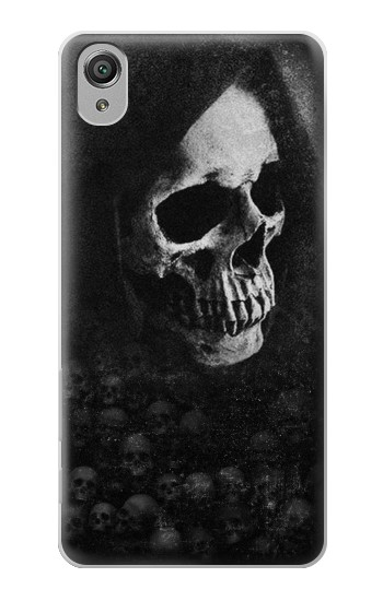 Printed Death Skull Sony Xperia X Case