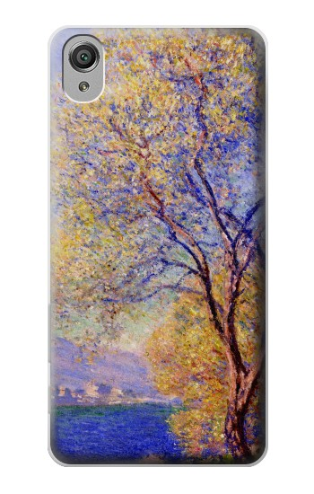 Printed Claude Monet Antibes Seen from the Salis Gardens Sony Xperia X Case