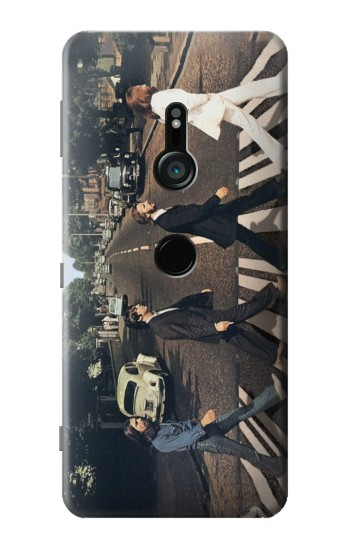 Printed The Beatles Abbey Road Sony Xperia XZ3 Case
