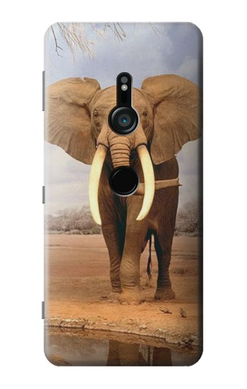Printed African Elephant Sony Xperia XZ3 Case