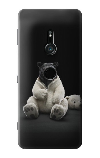 Printed Black Bear Sony Xperia XZ3 Case