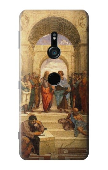 Printed Raphael School of Athens Sony Xperia XZ3 Case