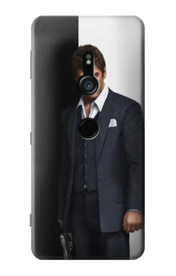 Printed Scarface Sony Xperia XZ3 Case