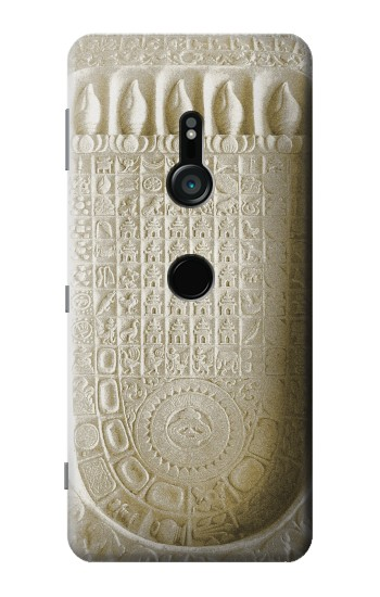 Printed Historical Buddha Footprint Sony Xperia XZ3 Case