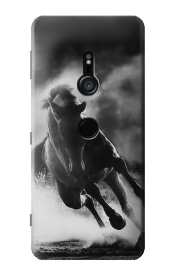 Printed Running Horse Sony Xperia XZ3 Case
