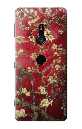Printed Red Blossoming Almond Tree Van Gogh Sony Xperia XZ3 Case