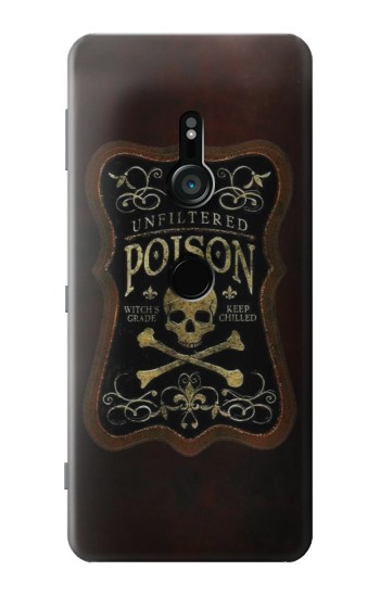 Printed Unfiltered Poison Vintage Glass Bottle Sony Xperia XZ3 Case