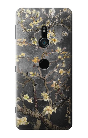 Printed Black Blossoming Almond Tree Van Gogh Sony Xperia XZ3 Case