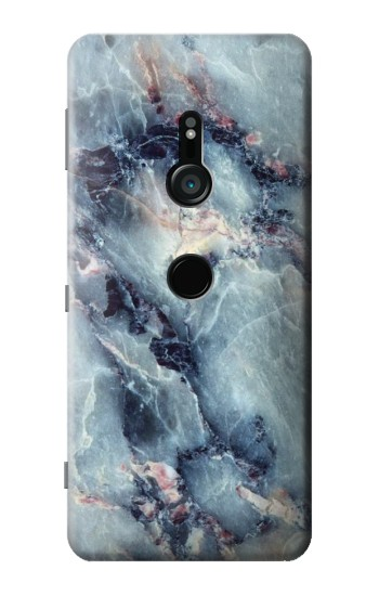 Printed Blue Marble Texture Sony Xperia XZ3 Case