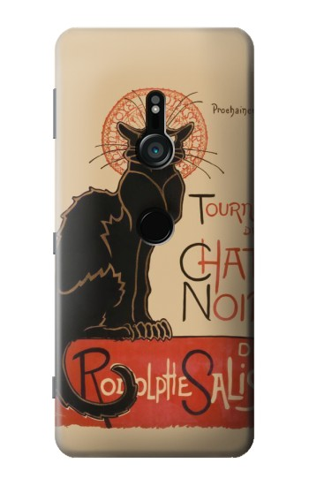 Printed Chat Noir The Black Cat Sony Xperia XZ3 Case