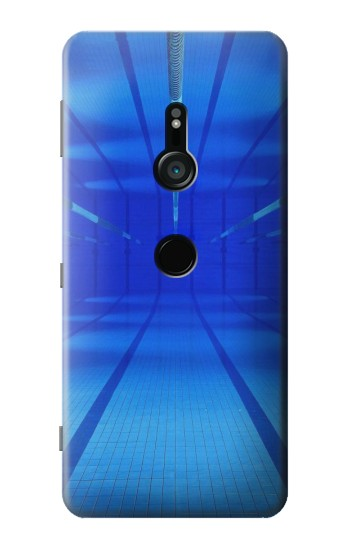 Printed Swimming Pool Under Water Sony Xperia XZ3 Case