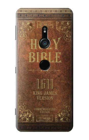 Printed Holy Bible 1611 King James Version Sony Xperia XZ3 Case