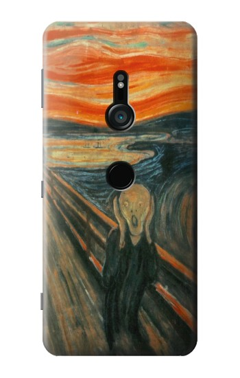 Printed Edvard Munch Scream Original Painting Sony Xperia XZ3 Case