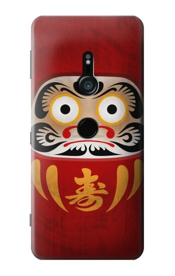 Printed Japan Good Luck Daruma Doll Sony Xperia XZ3 Case
