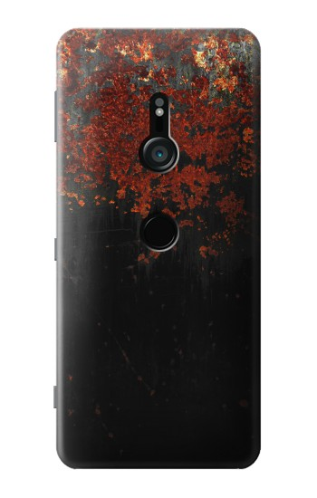 Printed Rusted Metal Texture Sony Xperia XZ3 Case