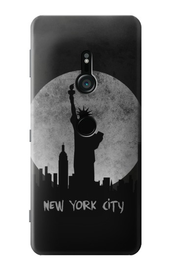 Printed New York City Sony Xperia XZ3 Case