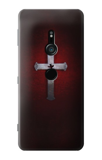 Printed Christian Cross Sony Xperia XZ3 Case