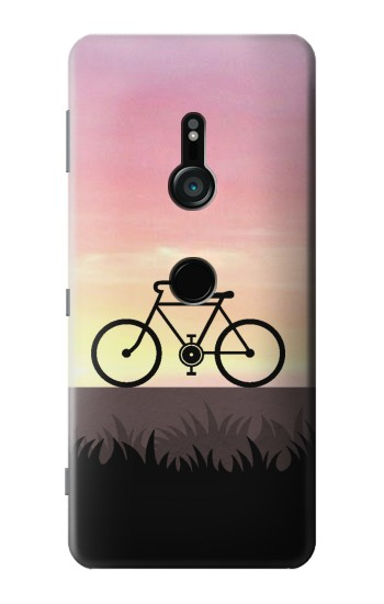 Printed Bicycle Sunset Sony Xperia XZ3 Case