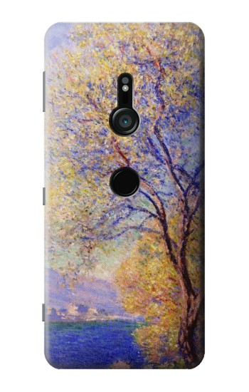 Printed Claude Monet Antibes Seen from the Salis Gardens Sony Xperia XZ3 Case
