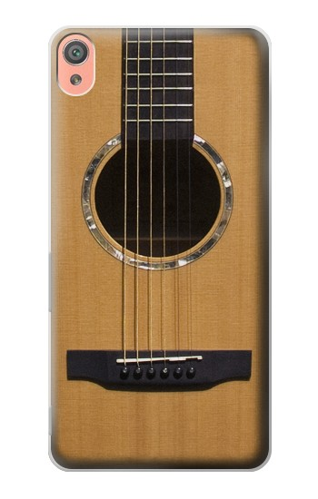 Printed Acoustic Guitar Sony Xperia XA Case