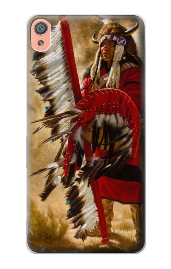 Printed Red Indian Sony Xperia XA Case