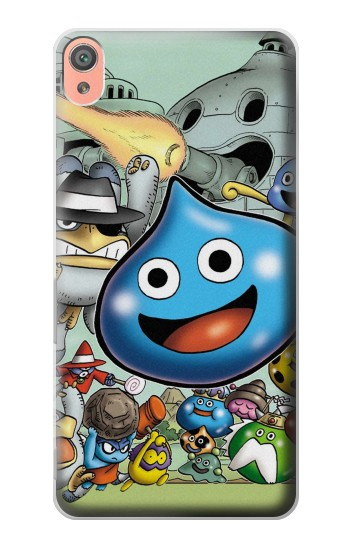 Printed Dragon Quest Slime Monster Sony Xperia XA Case