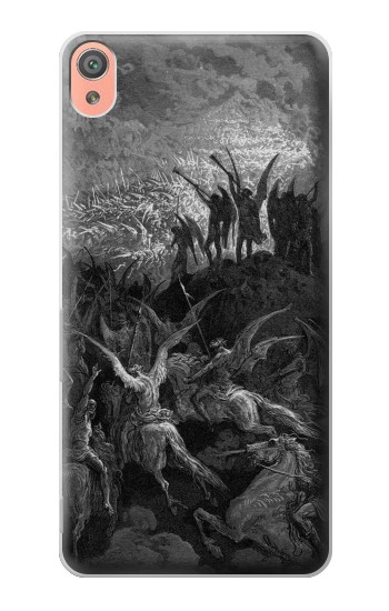 Printed Gustave Dore Paradise Lost Sony Xperia XA Case