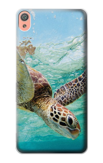 Printed Ocean Sea Turtle Sony Xperia XA Case