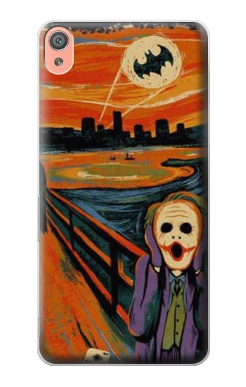 Printed Scream Joker Batman Sony Xperia XA Case