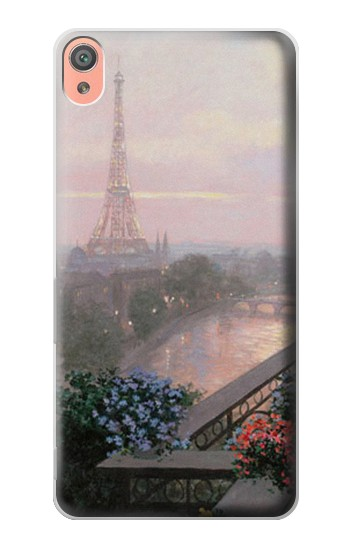 Printed Terrace in Paris Eifel Sony Xperia XA Case