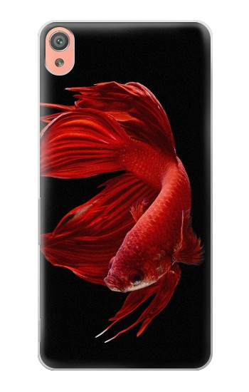 Printed Red Siamese Fighting Fish Sony Xperia XA Case