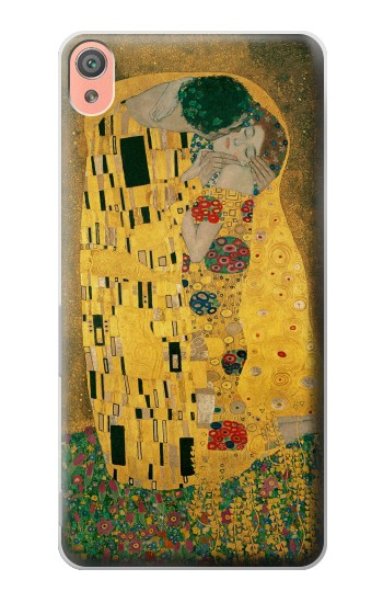 Printed Gustav Klimt The Kiss Sony Xperia XA Case