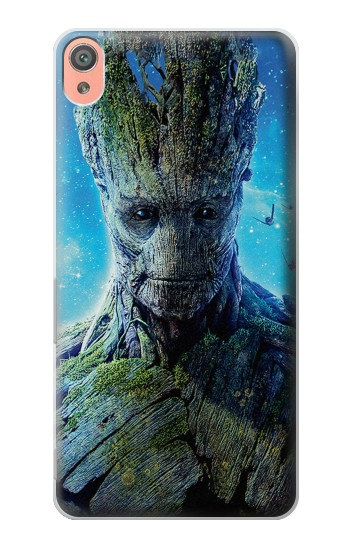 Printed Groot Guardians of the Galaxy Sony Xperia XA Case